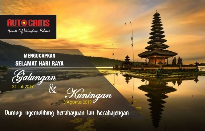 RAHAJENG GALUNGAN LAN KUNINGAN – Kaca Film Bali